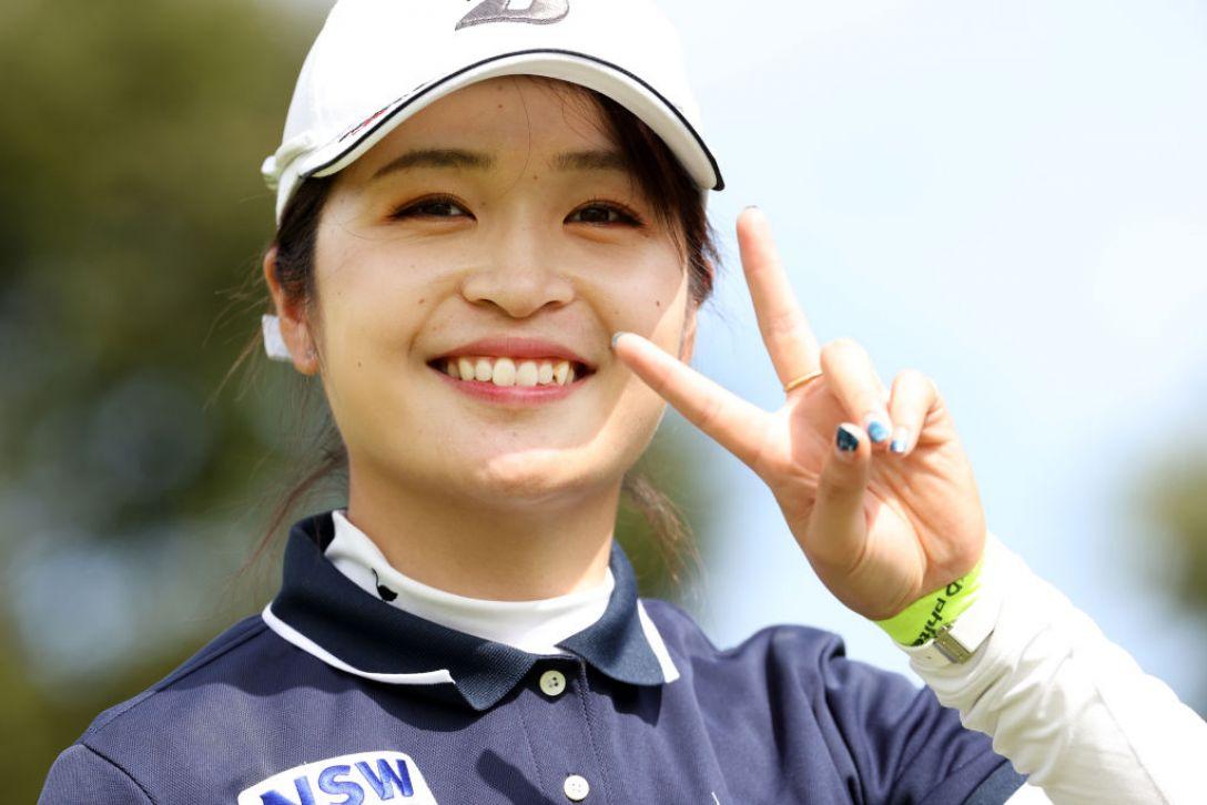 第48回ミヤギテレビ杯ダンロップ女子オープンゴルフトーナメント 第1日 三ヶ島かな <Photo:Atsushi Tomura/Getty Images>