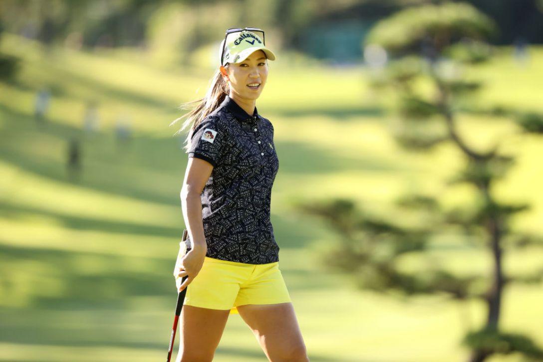 第48回ミヤギテレビ杯ダンロップ女子オープンゴルフトーナメント 第1日 上田桃子 <Photo:Atsushi Tomura/Getty Images>