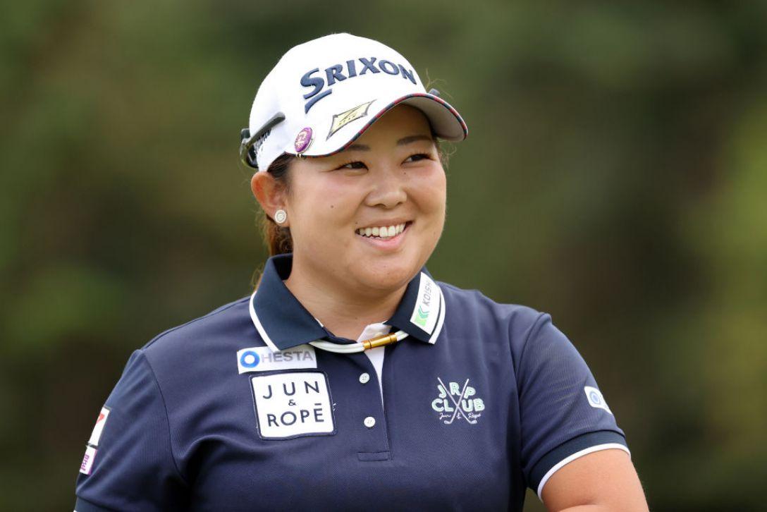 第48回ミヤギテレビ杯ダンロップ女子オープンゴルフトーナメント 第2日 淺井咲希 <Photo:Atsushi Tomura/Getty Images>