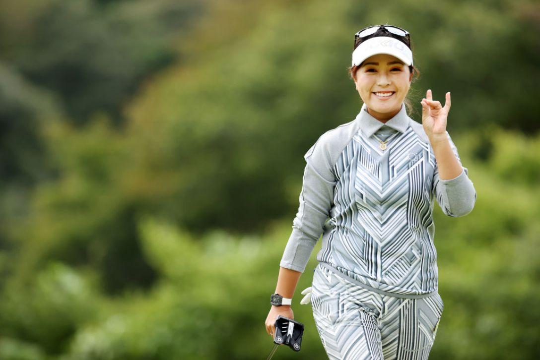 第48回ミヤギテレビ杯ダンロップ女子オープンゴルフトーナメント 第2日 青木瀬令奈 <Photo:Atsushi Tomura/Getty Images>