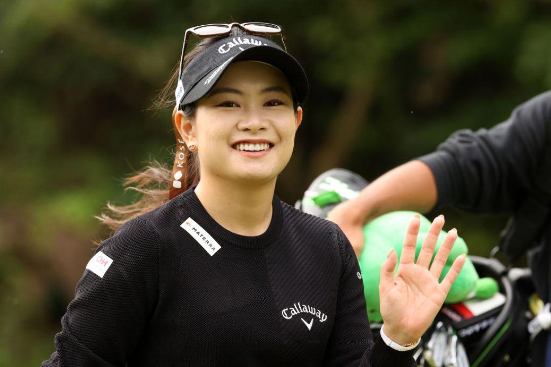 第48回ミヤギテレビ杯ダンロップ女子オープンゴルフトーナメント 第2日 河本結 <Photo:Atsushi Tomura/Getty Images>