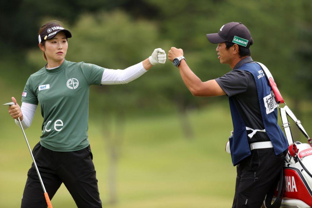第48回ミヤギテレビ杯ダンロップ女子オープンゴルフトーナメント 第2日 植竹希望 <Photo:Atsushi Tomura/Getty Images>
