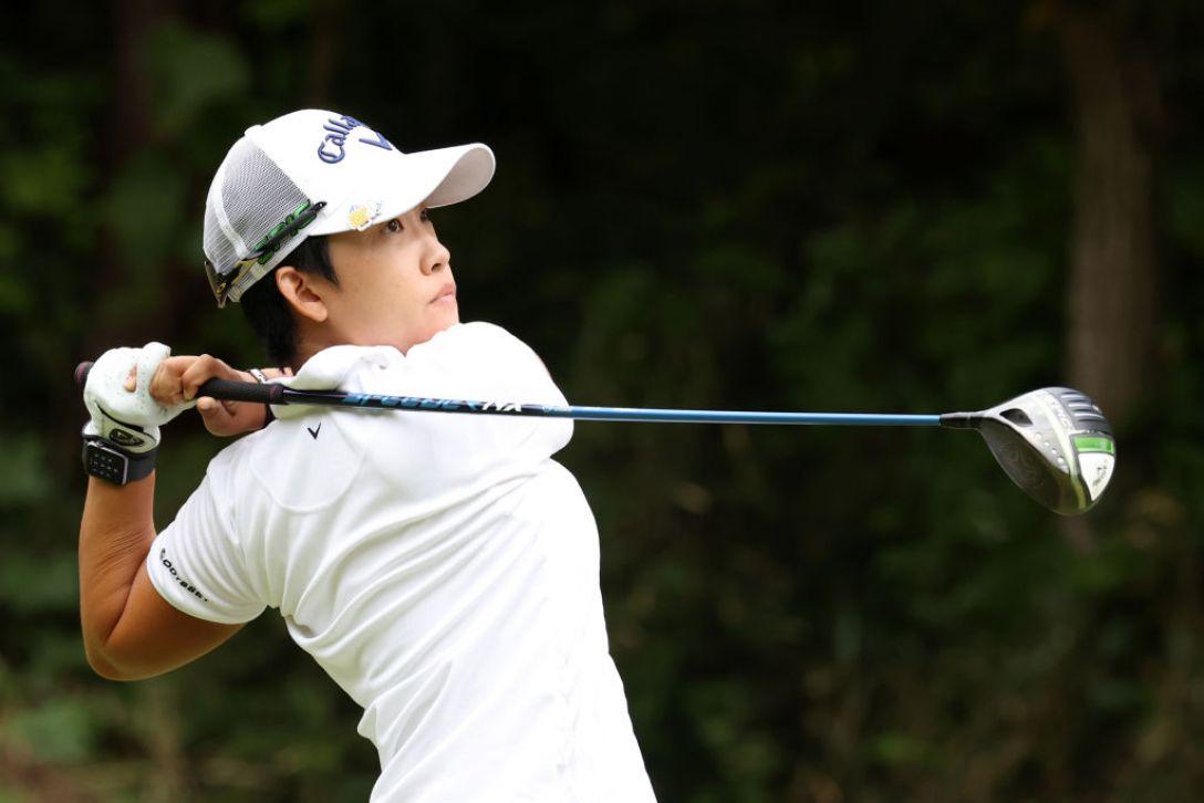 第48回ミヤギテレビ杯ダンロップ女子オープンゴルフトーナメント 第2日 ペヒギョン <Photo:Atsushi Tomura/Getty Images>