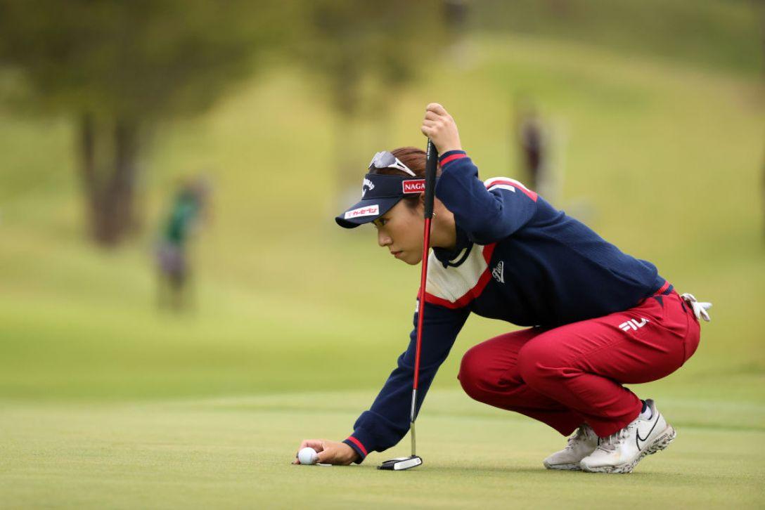 第48回ミヤギテレビ杯ダンロップ女子オープンゴルフトーナメント 最終日 木村彩子 <Photo:Atsushi Tomura/Getty Images>