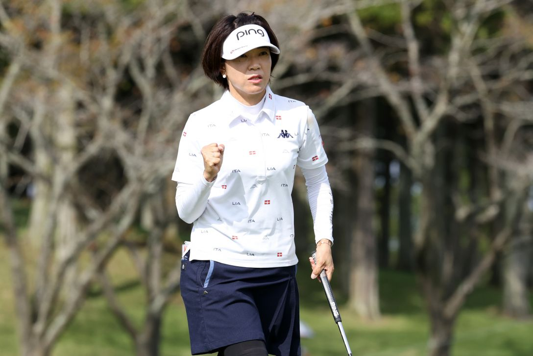 日本女子オープンゴルフ選手権 第1日 大山志保 <Photo:Atsushi Tomura/Getty Images>