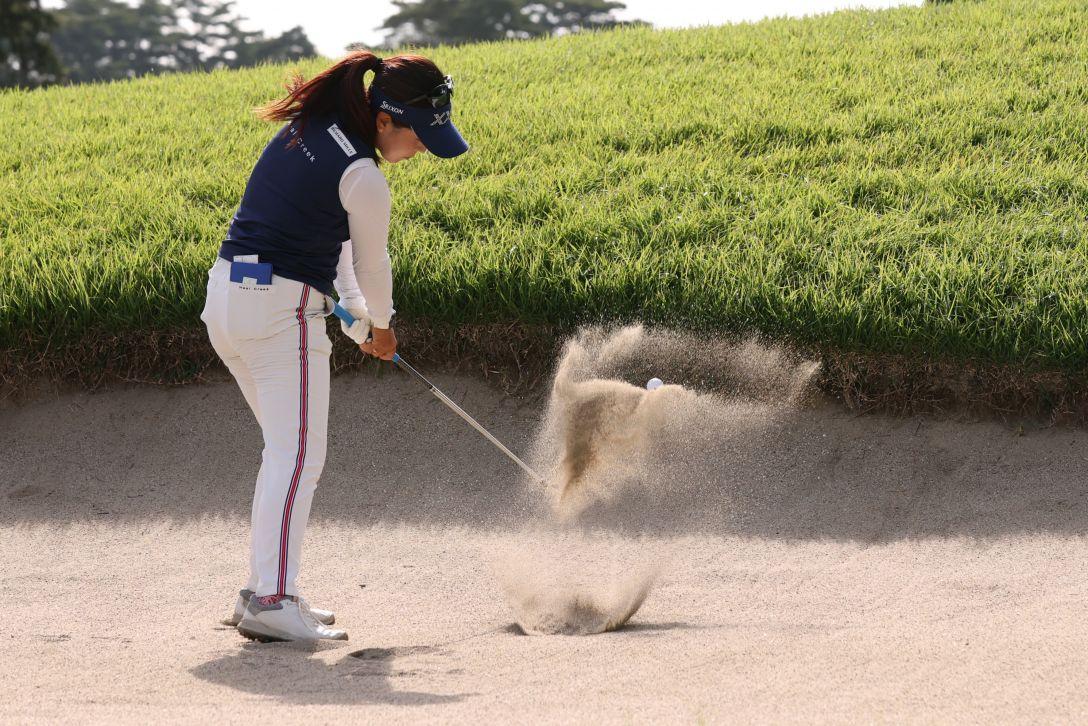 日本女子オープンゴルフ選手権 第1日 青木瀬令奈 <Photo:Atsushi Tomura/Getty Images>