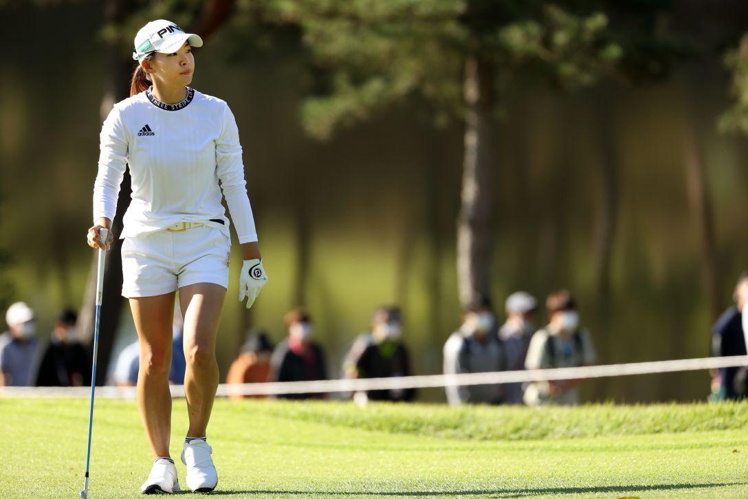 日本女子オープンゴルフ選手権 第2日 渋野日向子 <Photo:Atsushi Tomura/Getty Images>