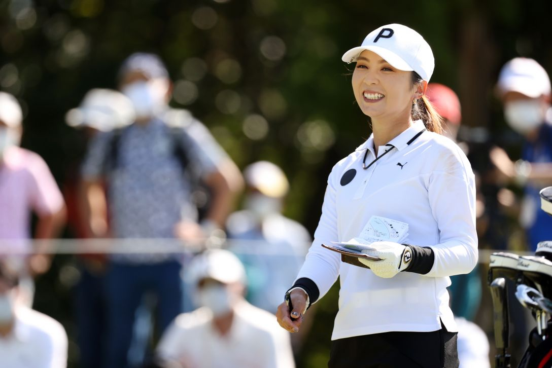 日本女子オープンゴルフ選手権 第2日 菊地絵里香 <Photo:Atsushi Tomura/Getty Images>