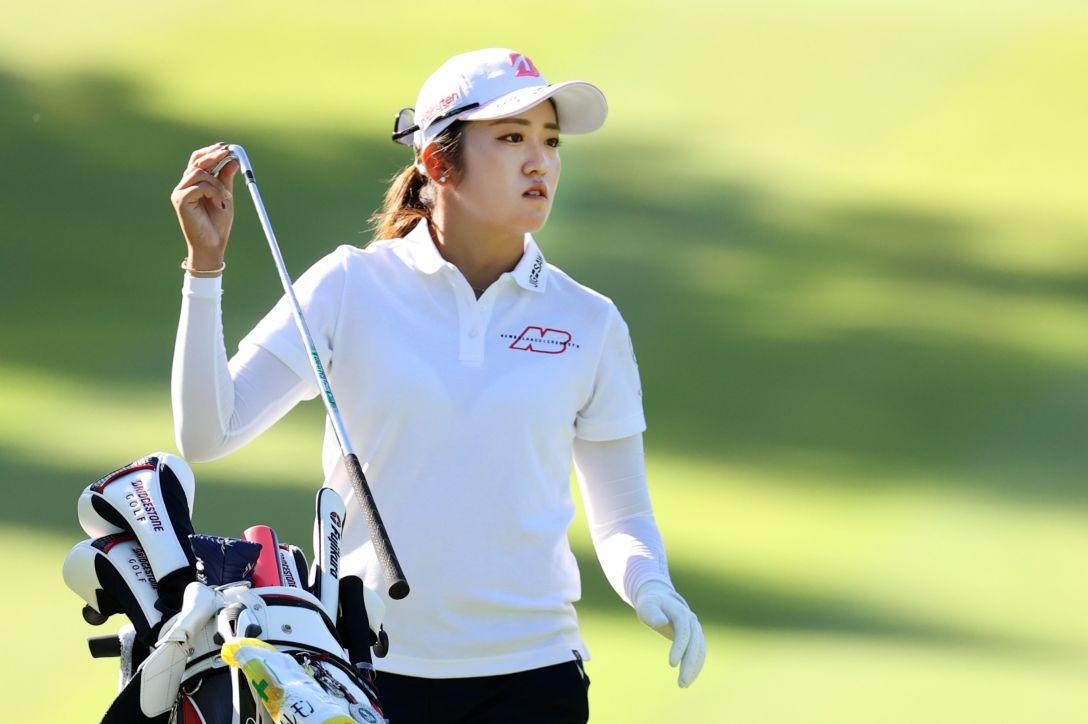 日本女子オープンゴルフ選手権 第2日 稲見萌寧 <Photo:Atsushi Tomura/Getty Images>