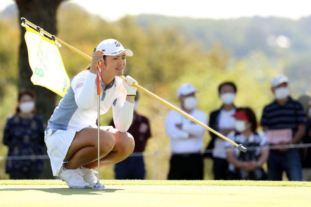日本女子オープンゴルフ選手権 第2日 渡邉彩香 <Photo:Atsushi Tomura/Getty Images>