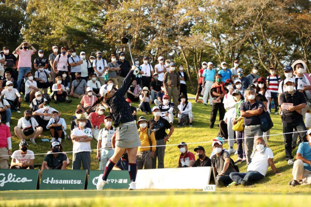日本女子オープンゴルフ選手権 第3日 勝みなみ <Photo:Atsushi Tomura/Getty Images>