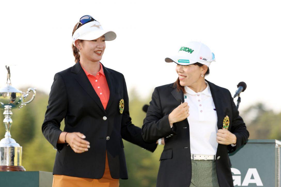 日本女子オープンゴルフ選手権 最終日 原英莉花 勝みなみ <Photo:Atsushi Tomura/Getty Images>