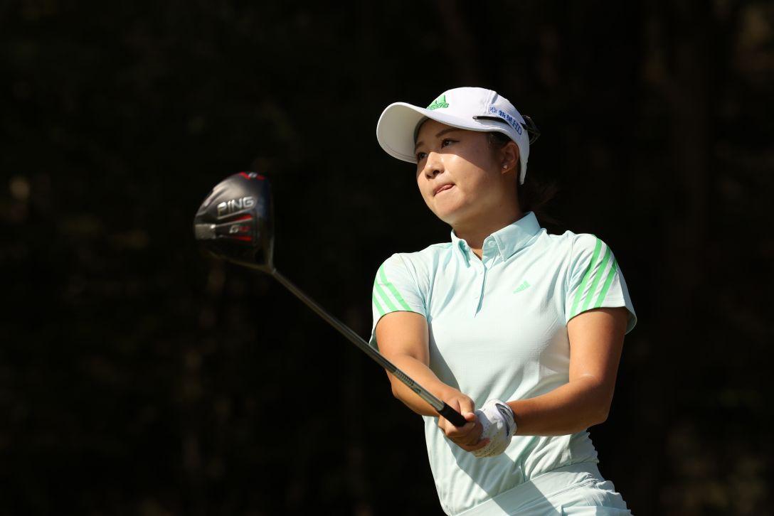 日本女子オープンゴルフ選手権 最終日 森田遥 <Photo:Atsushi Tomura/Getty Images>