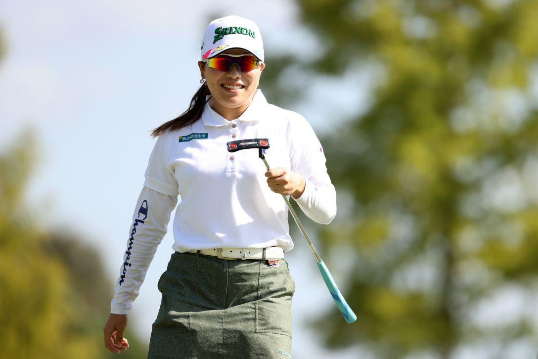日本女子オープンゴルフ選手権 最終日 勝みなみ <Photo:Atsushi Tomura/Getty Images>