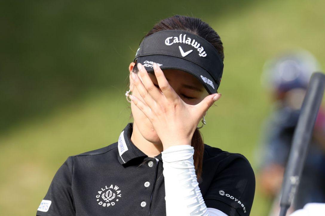 スタンレーレディスゴルフトーナメント 最終日 西村優菜 <Photo:Atsushi Tomura/Getty Images>