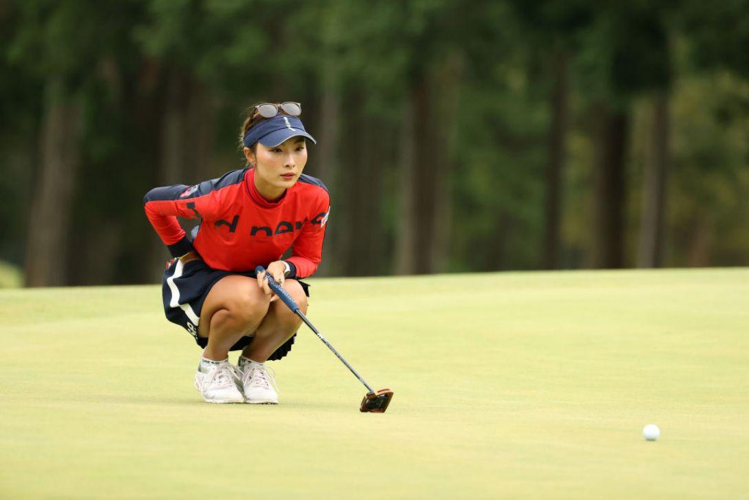スタンレーレディスゴルフトーナメント 最終日 鶴岡果恋 <Photo:Atsushi Tomura/Getty Images>