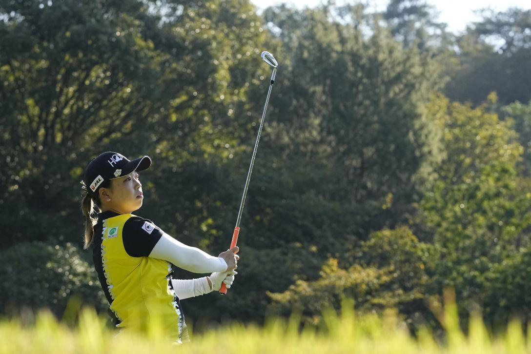 日台交流うどん県レディースゴルフトーナメント 第2日 後藤未有 <Photo:Ken Ishii/Getty Images>