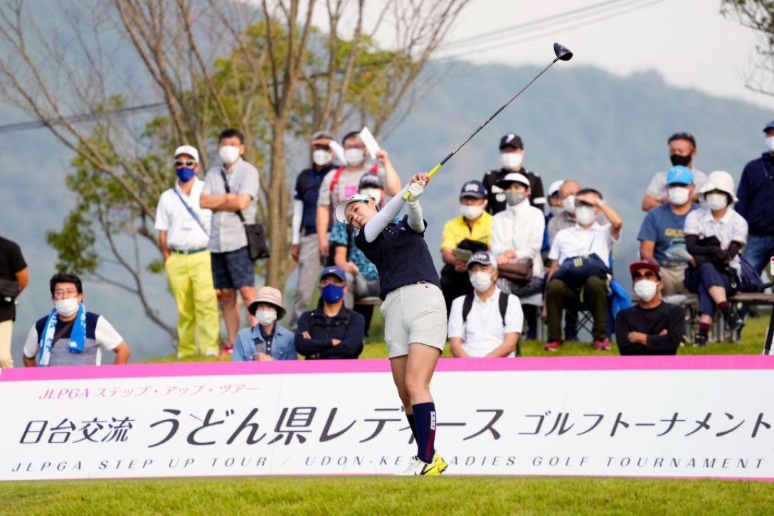 日台交流うどん県レディースゴルフトーナメント 第2日 豊永志帆 <Photo:Ken Ishii/Getty Images>